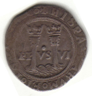 1 reale coin 1542 72