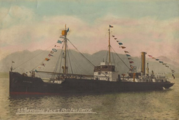 Baychimo in Vancouver 1931
