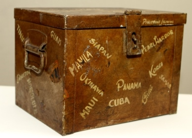 "WW II ""Sea Chest""."