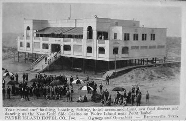 One of the first buildings constructed at Tarpon Beach in 1908, (Today's Isla Blanca Park) the Casino Hotel (AKA the Gulf side Hotel) was only open for a short period […]