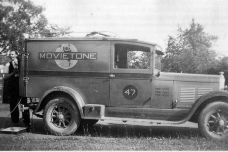 Movietone Truck - photo by Amanda Emily