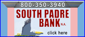 South Padre Bank on South Padre Island, Texas